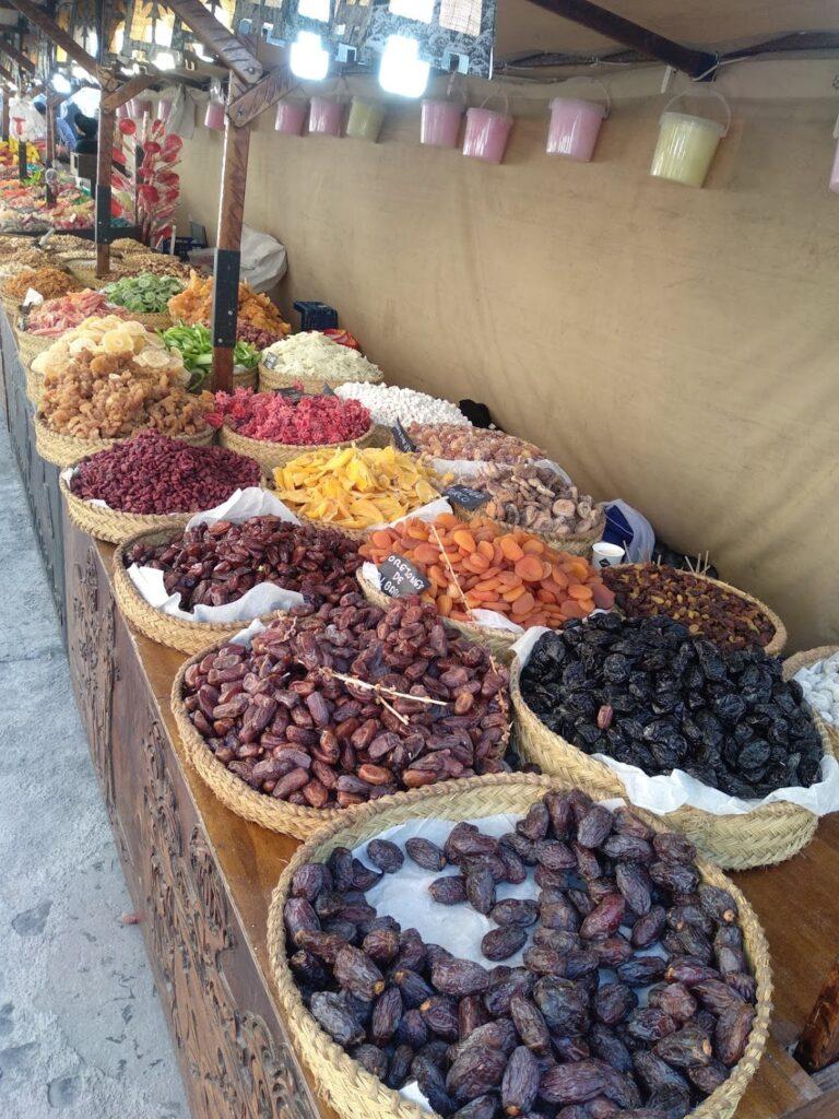 Spanish market spices Costa del Sol