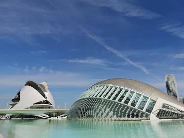 Valencia City Science modern park Spain