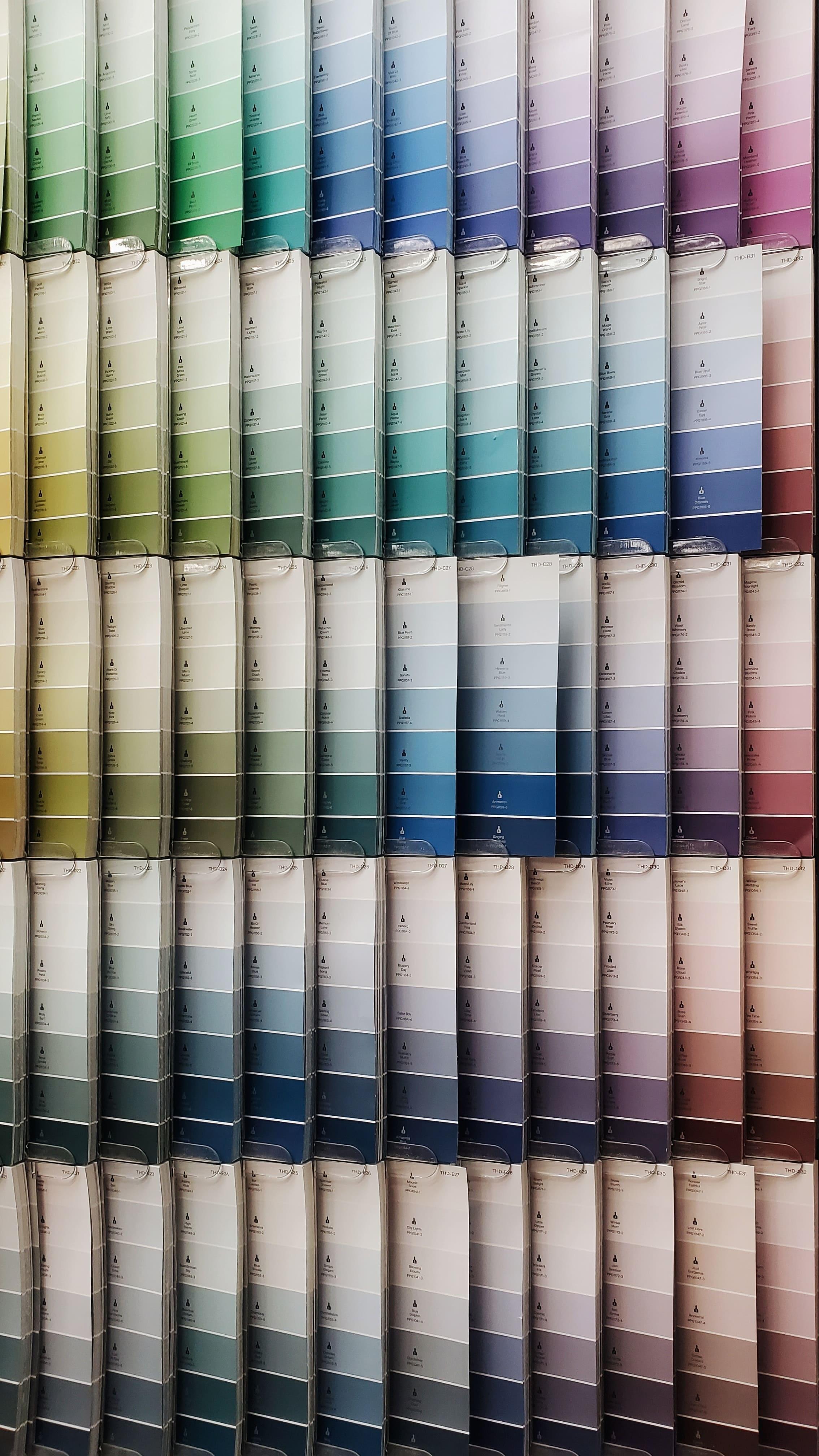 colour chart options