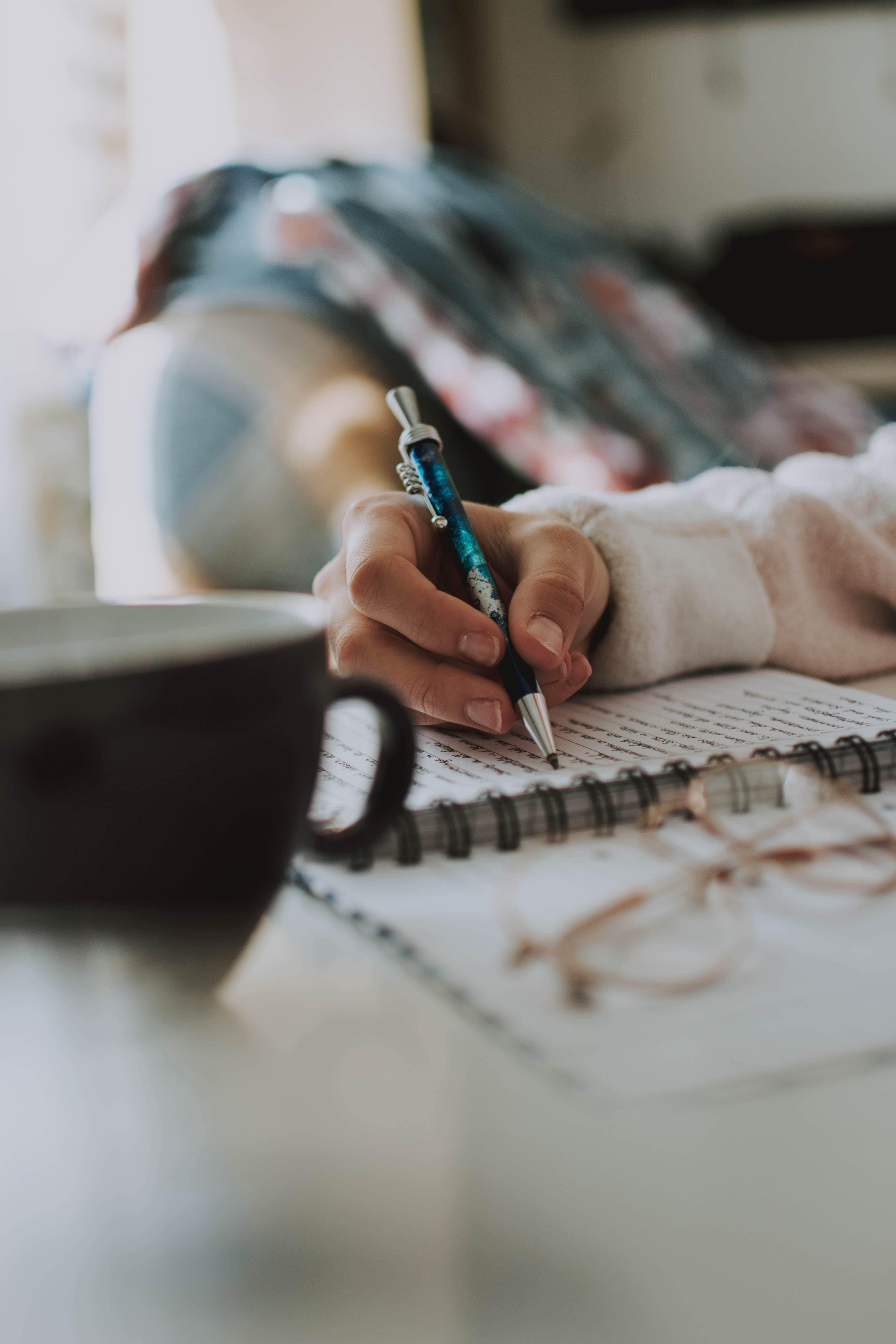 journalling to listen to ourselves