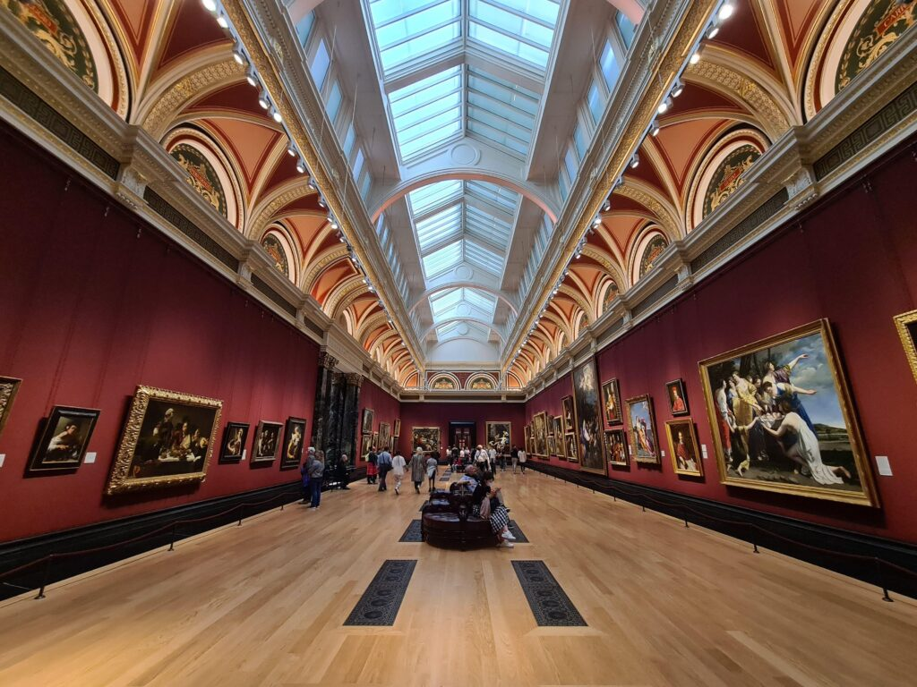 British Gallery London inside